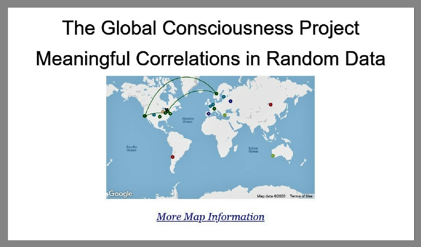 Global Consciousness Project Noosphere Project Q Plus News