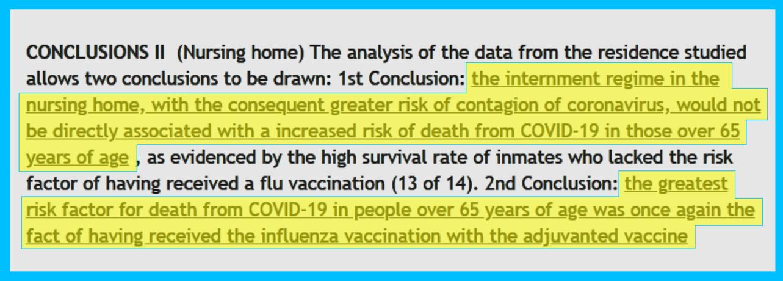 COVID-19 Deaths Flu Vaccines
