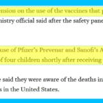 Japan Infant Death Vaccines 2011
