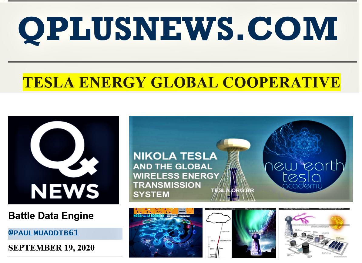 QPlusNew, Tesla Energy Global Cooperative